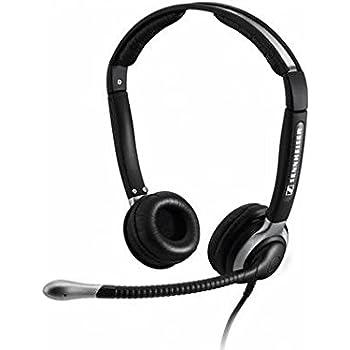 sennheiser sh 350 binaural headset with microphone electronics. Black Bedroom Furniture Sets. Home Design Ideas