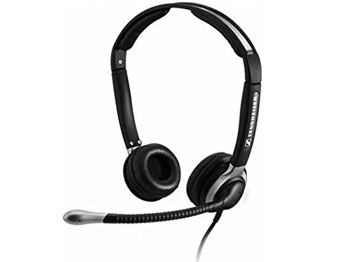 Cherry Lightweight Headphone (Sennheiser CC 520 Binaural Headset with Ultra Noise-Canceling Microphone and Boom)
