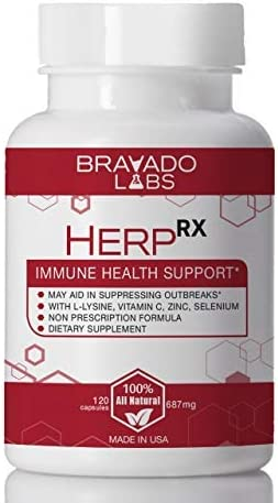 Amazon Com Premium Herpes Treatment Supplement Herprx With L Lysine Vitamin C And Zinc Cold Sore Treatment Anti Herpes L Lysine Supplement For Adults Herpes Immune Support Shingles Treatment