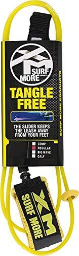 XM Regular Tangle Free Leash Clear Yellow 8ft