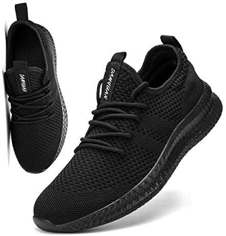 FUJEAK Men Running Shoes Men Casual Breathable Walking Shoes Sport Athletic Sneakers Gym Tennis Slip On Comfortable Lightweight Shoes