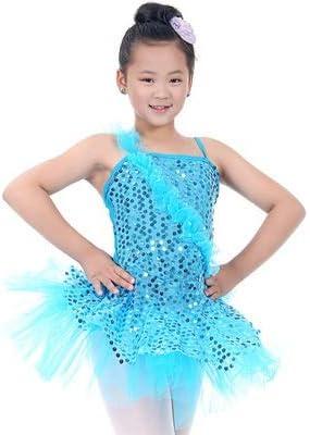 Faldas de danza para niña, Niñas pequeñas Camisola Baile Vestido ...