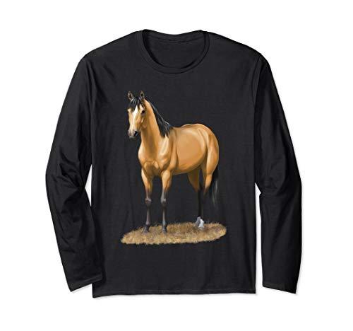 Beautiful Buckskin Dun Quarter Horse Stallion Shirt ()