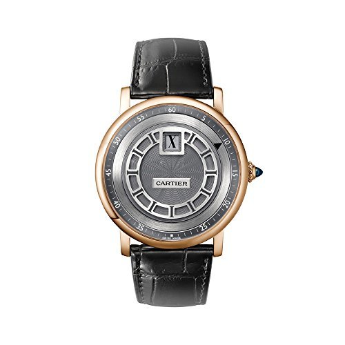 Cartier Rotonde de Cartier Jumping Hours Manual Wind 18 kt Rose Gold Mens Watch W1553751