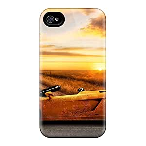 Durable Protector Cases Covers With Lambroghini Gallardo Hot Design For Iphone 6