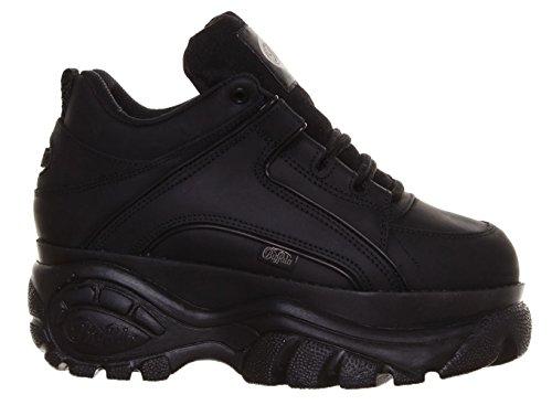 14 Shoes Eu Buffalo 40 Black Leather Mens 1339 n1aqfCZ
