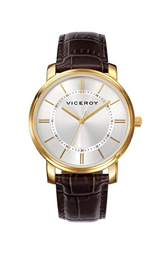 VICEROY 40475-27. Reloj de hombre con correa de piel.: Amazon.es: Relojes