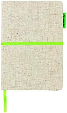 XD Libreta A5 de algodón Yute Eco, Papel, Verde, Flat: Amazon.es: Hogar