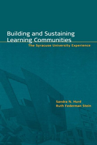 Building and Sustaining Learning Communities: The Syracuse University Experience