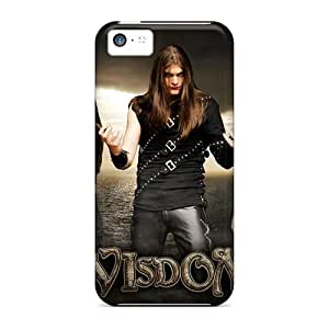 MarieFrancePitre Apple Iphone 5c Excellent Hard Phone Cover Allow Personal Design Colorful Manowar Band Series [mlw14909HFwO]