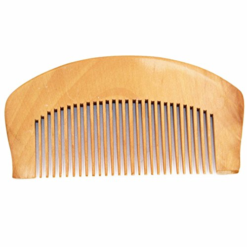 UPC 795827901073, Silvercell 1pc Natural Wide Tooth Peach Wood No-static Massage Hair Wood Comb