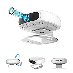Tofucam by Pyle - 2 Mega Pixel FULL HD 1080P in Home Wireless IP Camera and Baby Monitor - SD Recording and Time Lapse Export from Sound Around