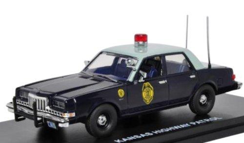 Fast response 1/43 1985 Dodge Diplomat Police Kansas Highway Patrol