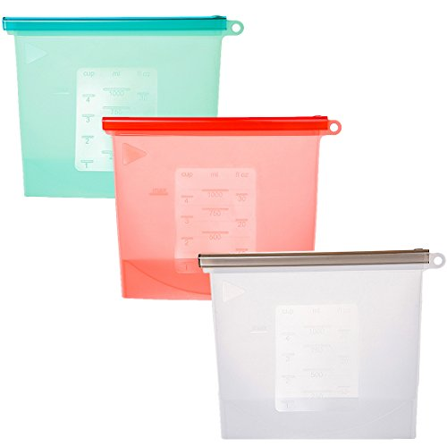 reusable freezer bags silicone - 7