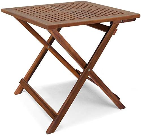 cucunu 27×27 Inch Adirondack Side Table