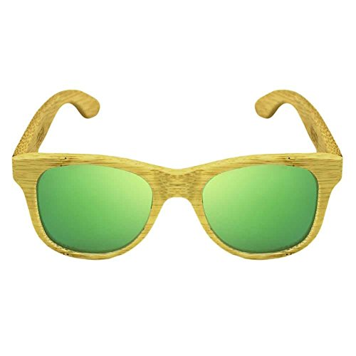 en une vert Green taille bois Kalima soleil Lunettes de YAqxrwIx0f