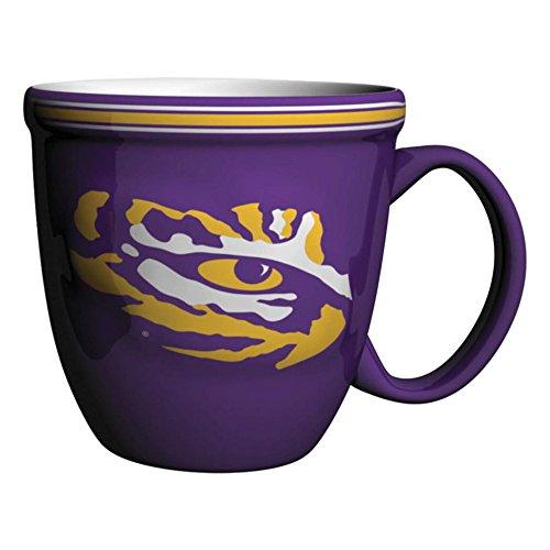 NCAA LSU Tigers Bistro Mug, 15-ounce, Purple
