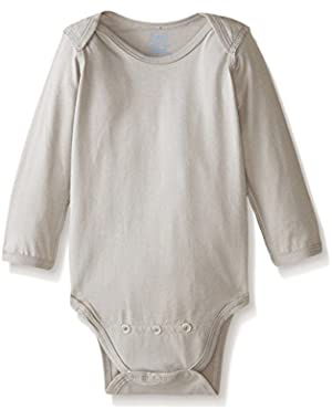 Baby Long Sleeve Organic Adjustable Bodysuit