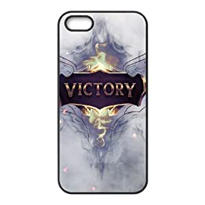 League Of Legends Victory iPhone 5 5s Cell Phone Case Black gift z004hm-2324838