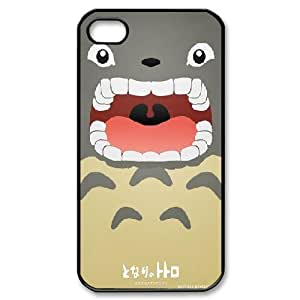 Bloomingbluerose so Cute Totoro Cases for IPhone 4/4s, with Black