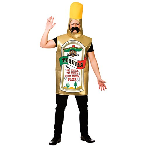 Tequila Bottle Adult Costume Stag Fancy -