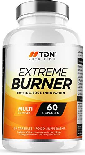 Extreme Burners – Weight Management for Men & Women – Massive 2 Months Supply – Premium Grade UK Made Diet Pills – Multi…