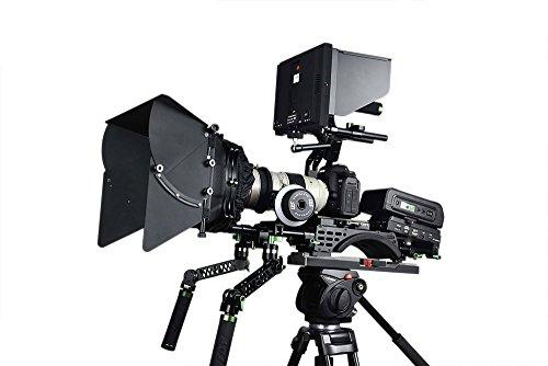 Lanparte PK-02B Professional DSLR Camera Kit V2B with V-Mount Shoulder Pad (Black)