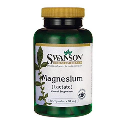 Swanson Magnesium Lactate 120 Caps