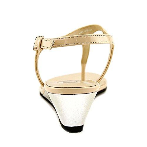 Callisto Spring Patent Compensés Synthétique Sandales Nude wqOx0gq6U