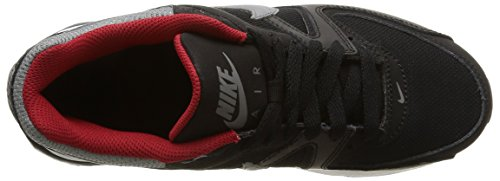 Nike Herren Air Max Command (Gs) Schwarz - Black (Black/Cool Grey-Gym Red-White)