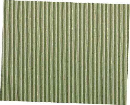 (Fabric Seaside Grass Green Woven Stripe Outdoor Indoor Fabric)