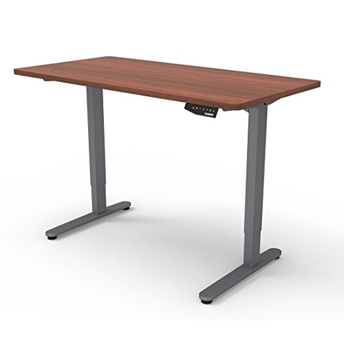 Flexispot Height Adjustable Electric Mahogany