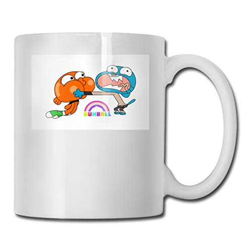 The Amazing World Of Gumball Brother CUPS 11OZ Printed Design Funny Coffee Mug Tee Cup