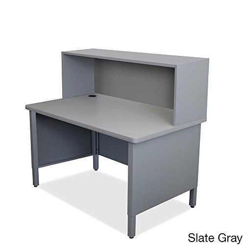 Mailroom Utility Table Finish: Slate Gray by Marvel