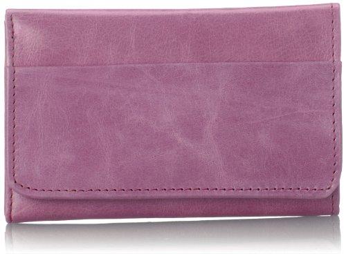 HOBO Vintage Jill Tri-Fold Wallet,Lilac,One - Handbag Womens Medium Hobo