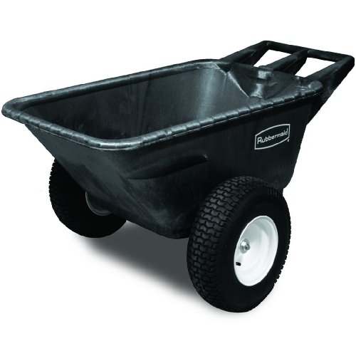 Rubbermaid Commercial Heavy Duty Big Wheel Cart 700 Lbs