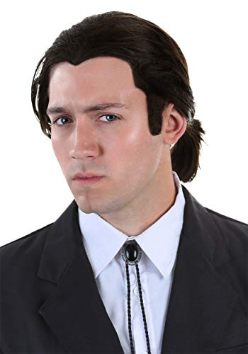 Mia Wallace Vincent Vega Costumes - Men's Pulp Fiction Wig and Tie