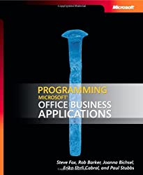 Programming Microsoft® Office Business Applications (PRO-Developer)