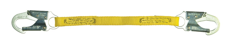 Guardian Fall Protection 01265 6-Foot Single Leg Non-Shock Absorbing Lanyard
