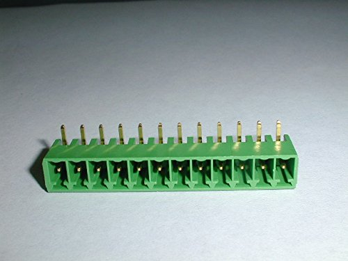 (Phoenix Contact 1847330 MC1.5/12-G-3.81-AU 12pos Header with gold plated pins)