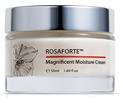 Green Keratin ROSAFORTE Magnificent Moisture Cream || Absoluto de rosa, Aceite de semilla de
