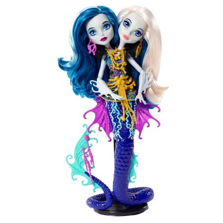 Monster High Dolls For Sale Cheap - Monster High Great Scarrier Reef Peri/Pearl Serpent Doll