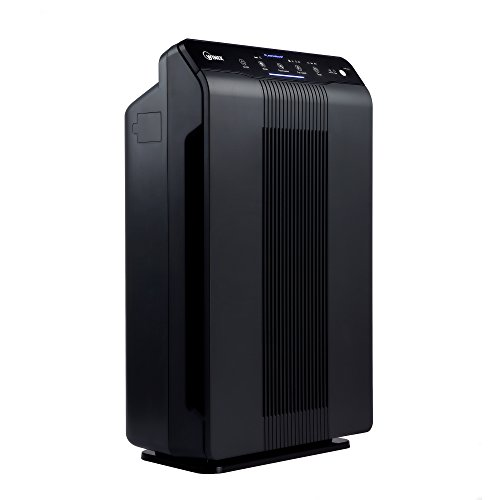 Winix 5500-2 Air Purifier with True HEPA, PlasmaWave and Odor Reducing Washable AOC Carbon - Purifier Smoke Air Control