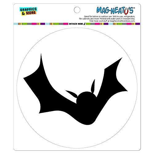 Graphics and More Bat Halloween Automotive Car Refrigerator Locker Vinyl Magnet]()