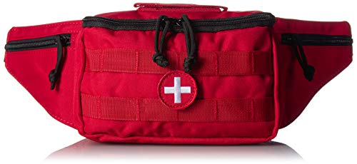 VooDoo Tactical 15-0147016000 Medical Fanny Pack, Red