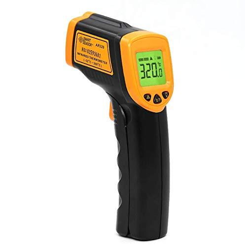 Termómetro infrarrojo de alta temperatura, 1600 grados 1850 grados ...