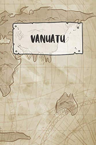 Vanuatu: Ruled Travel Diary Notebook or Journey  Journal - Lined Trip Pocketbook for Men and Women...