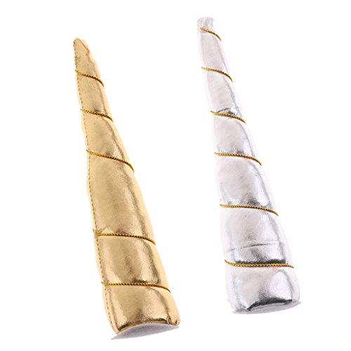 Baoblaze Pack of 2pcs Cute DIY Unicorn Horn