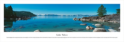 Lake Tahoe - Blakeway Panoramas Unframed Icon Posters (Unframed Icon)