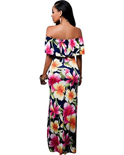Femme Manches fte Robe de BIUBIU Courtes Rose Vtement xYq76nI